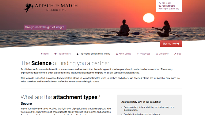 Website design - Based in Worthing, West Sussex